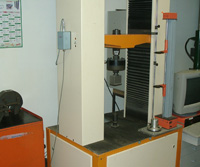 50 tons test equipment with 2-channels data collection system